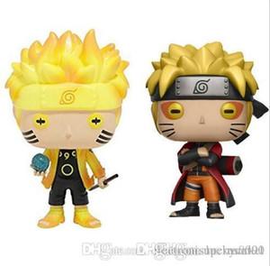 Funko Pop Animação: Naruto - Naruto Six Path / Sage Mode Vinyl Action Figure com caixa de presente boneca de brinquedo para crianças