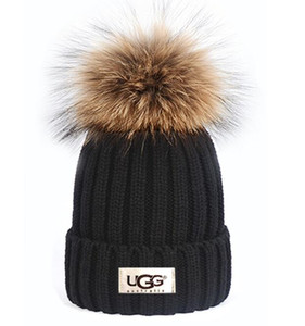 Kanada Winter-Hüte Lässige Mützen Warm Fest gestrickte Baumwolle Skullies Kappe für Männer Frauen Hut Mode Schädel Beanie im Freien GOOSE Gorro Bonnet