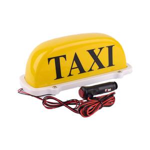 Luci gialle del taxi Cab Roof Top Sign Light Lamp Indicatori di direzione magnetici per veicoli di grandi dimensioni