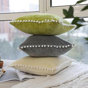 14ym nuovo Creative Multi colori Carino Velvet Confortevole Cuscino Nordic morbida di stile Copricuscino Home Textile facile da usare di alta qualità