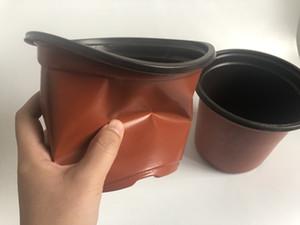 D15XH13CM Bac à fleurs calibre résistance à la corrosion postoral grands pots à fleurs en plastique pots de pépinières Grand Jardin Pots SF-094-15