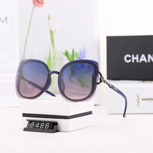 gafas de sol de marca de la mujer, gradiente, oval lente, polarizado, de vídeo para PC, anti-ultravioleta, HR7002, gafas de sol de la moda de las señoras, al por mayor