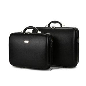 현금 컴퓨터를 포장 문서 상자 캐스 높은 품질의 남성 비즈니스 박스 비밀번호 홀드 모든 가방 가죽 트렁크 소품 가방 CAS