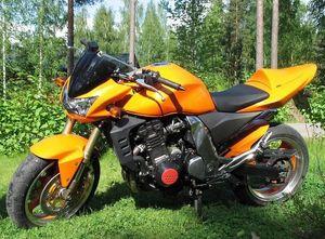 Kostenlose benutzerdefinierte Motorradverkleidungen für Kawasaki Z1000 03-06 Z1000 2003 2004 2005 2006 Straßenrennen Orange Aftermarket Verkleidung Körperarbeit