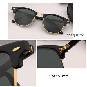 L'arrivée de nouveaux lunettes de soleil de qualité supérieure pour les hommes Club Classique Stylisme soleil maître planche acétate lunettes Sunglass 51mm gradient UV400 Gafas