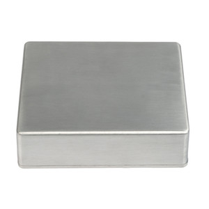 Durable Aluminum Metal Stomp Box Case Polished Finish Guitar Effect Pedal Enclosure