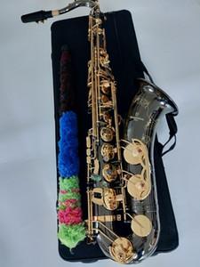 أداء فائق المهنية تينور ساكس B شقة لحن موسيقي أفضل نوعية الذهب الأسود ياناجيساوا T-W037 تينور ساكسفون