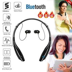 Wireless Headphones Bluetooth Sport Cuffie auricolare Neckband auricolari con microfono