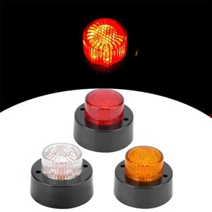 5Pcs 10V-30V شاحنات LED Side Marker Lights Clear Clear Clear Light Light Pickp Indicator Warning Light for Truck