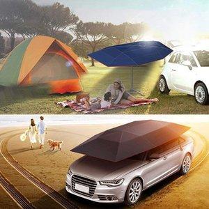 Tienda portable de la cubierta completa del coche automático por control remoto cortina de coches Sun Roof cubierta exterior Kits de protección UV paraguas