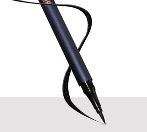 Güzellik Camlı Su geçirmez Likit Eyeliner Siyah Hızlı Kuru Boyama Long olmadan Eyeliner İyi süren Eyeliner Kalem şekillendirme Bir inme