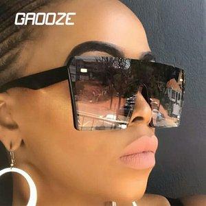 Oversized Sunglasses Women Female Glasses for Women's Sunglasses Big Frame Square Sun Glasses Women's 2020 Colorful LXD65