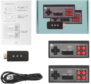 Y2 game 4K HDMI Video Game Console can store 600 Classic Games Mini Retro Console Wireless Controller HDMI Output Dual Players Free DHL