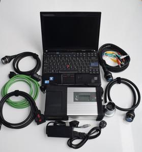 MB Star C5 per strumento diagnostico Mercedes Benz con Toughbook X201T Laptop 2021 Ultimo scanner per auto e camion SSD