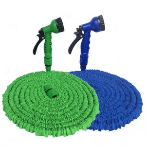15-30M Expandable garden magic hose Telescopic Water Pipe irrigation watering Spray Car Wash Plastic Pressure Gun cleaning tools T200530