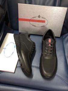 Top qualidade Designer de moda lace up sapatos para homens sapatilha de couro real homem casual sapato com tamanho da caixa 38-45