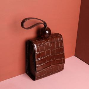 ms in pelle di qualità del progettista alta della spalla del grano borsa a mano inclinava il sacchetto di spalla alla moda jolly