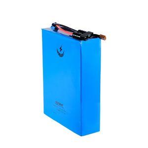Batteria per bici elettrica 72V 90Ah 5000W 8000W per Samsung 18650 batteria 20S batteria al litio ebike 72V 72V integrata nel caricabatterie BMS + 10A 150Amps