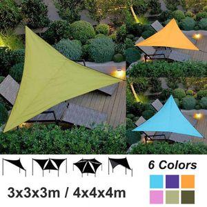 Im freien Wasserdichte Dreieckige UV Sonnenschutz Segel Kombination Net Dreieck Sonne Segel Zelt Camping Garten Sonnencreme Net Shelter 3/4 Mt