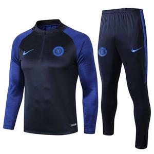 alta qualidade 19 20 Chel homens de futebol treino 2,019 GIROUD camisa de futebol jaqueta desgaste Kante sportwear poeira formação coat