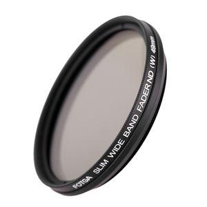 49mm / 52mm ND 필터 중립적 인 밀도는 캐논 니콘 디지털 DSLR 카메라 캠코더 DV에 대한 ND2 ND4 ND8 ND400 렌즈 가변 ND 페이더 필터