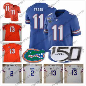 2019 GROIDA Gators # 11 Kyle Trask 19 Evan McPheers 21 Trey DEAN III 16 Freddie Swain 84 Kyle Pitts Blue New Jersey