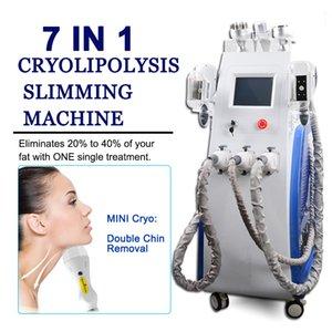 Cryolipolysis LipolaseR yağ giderme fonksiyonlu kavitasyon rf LipolaseR kriyo makine hücresel yağ dondurma vakum yağ azalması
