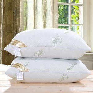 Cojines cojines / confortable sensación de suavidad / almohada para el cuello de la Salud de bambú almohada / cervical Cuidado de la Salud 1PCS