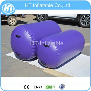 Freies Verschiffen Preis der Fabrik 120x70cm Aufblasbare Bounce Gymnastik Tumbling Mat Air Track Roller Gymnastik Mini Inflatable Air Track