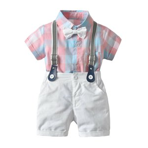 Toddler  Baby Boy Bodysuit Top+ Shorts 2pcs Party Set