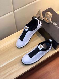 Yeni İtalyan high-end marka erkek ayakkabı ithal İtalyan deri yüz koyun derisi astar kauçuk alt rahat yürüyüş erkek ayakkabı 38-44 ya