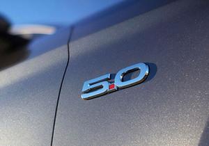 Marka Yeni Yeni 5.0 Amblem Evrensel Badge Logo Sticker Trim Ford Mustang 2015 2016 2017 Tüm Otomobil için