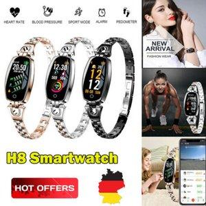 H8 Smartwatch Fitness Activity Tracker Frauen Herzfrequenz-Blutdruck-Monitor Schlaf Wasserdicht Mode Smart-Band