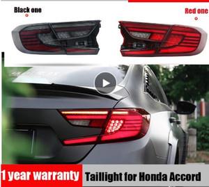 Letf + Right Car Styling Rücklicht für Honda Accord 10 2018 2019 Rücklicht Nebelschlussleuchte + Bremslicht + Rücklicht + Dynamisches Blinker