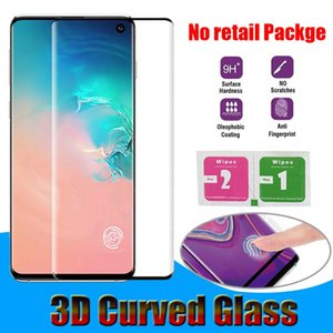 3D Curved Tempered Glass For Samsung Galaxy S8 S9 S10 Plus Note8 Note9 Note10 Plus S20 Plus Ultra P30 Mate30 Pro