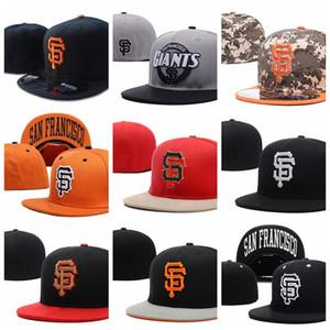 all'ingrosso Giants lettera SF cappellini da baseball gorras bones primavera cotone hip hop per uomini donne estate cappelli attillati