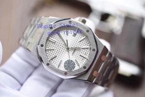 Üst Erkek Saatler erkek Otomatik İzle Yeni V5 Sürüm Miyota Cal.3120 Erkekler Beyaz Mavi Siyah Gri Offshore 15400 Dalış Jf Kraliyet Saatı