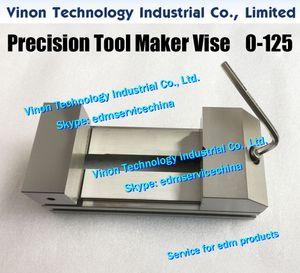 Max Open: 0-125mm Чайник из нержавеющей инструмент Тиски (Ultra тип Precision) 230Lx98Wx80H, EDM GRINDING VISE инструментальщик Тиски держать 125мм для EDM машины