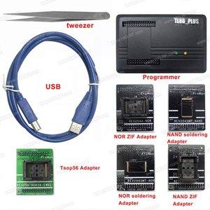 Freeshipping ProMan Professional nand flash Programmatore TL86 PLUS NAND NOR + TSOP48 Adattatore + TSOP56 Adattatore Velocità di programmazione elevata