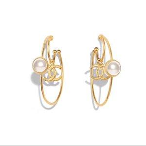 Top Qualität runde Form mit Perle und Stempel für Frauen einfache Designer Frauen Engagement Geschenk PS4307