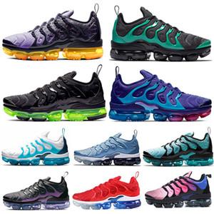 nike air vaporma TN Plus Mens Artı siyah volt Ruh Teal Eagles Midnight Navy Hiper Mavi yaban arısı erkek eğitmenler Spor Sneakers Boyut 36-45 için 2020 çalıştıran Ayakkabı
