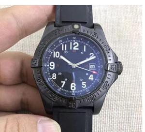 2018 Novo produto Movimento automático 1884 Rubber pulseira SuperQuartz Sapphire espelho de cristal do novo céu colt data piloto relógio dos homens