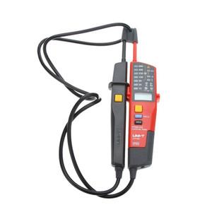 Freeshipping Ut18c 자동 범위 전압계 연속성 테스터 Lcd 표시기 날짜 보류 Rcd 테스트 배터리 없음 검출기