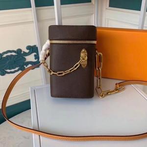 Nouveau Mini sac à chaîne boîte de téléphone Satché embrayage classique boîte à main pour les femmes Sacs de soirée sac à main en cuir Croix Messenger Body Sac à bandoulière