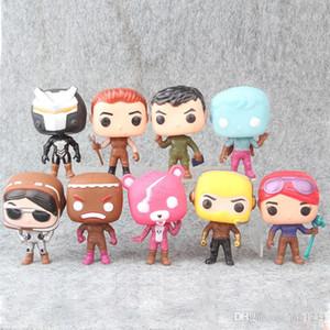 9 Art Fortnita Funko POP Plastikpuppe Kinder Spielzeug 10cm Cartoon Spiel Lama Rosa Bär Action-Figuren Spielzeug Weihnachtsgeschenke