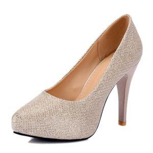 Heißer Verkauf-Frau Faux Wildleder Pumps mit spitzen Zehen und Pfennigabsatz für Mode elegante Frau mit Größe verfügbar