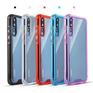 Für LG Aristo 5 K51 Stylo 6 Moto G Stylus Schnell E7 Galaxy A21 A11 A51 A71 5G Acryl Klar Telefon-Fall-Abdeckung