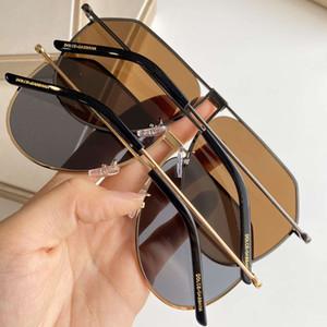 Мужские солнцезащитные очки дизайнер металл человек солнцезащитные очки коды 2248 модные солнцезащитные очки UV400 5 цветов высокое качество с коробкой