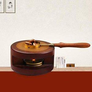 Kaşık Seti Boncuk Erime ile Wax Seal Isıtıcı Fırın Soba Pot Sızdırmazlık Damgası Aracı Sticks