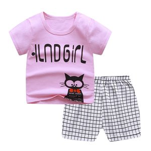 Cotton Boys Clothes Sets Suit For Boy Summer Shirts Shorts 2 pieces Suit Children Set Clothing Kids New baby Toddler 3-10 year Wear